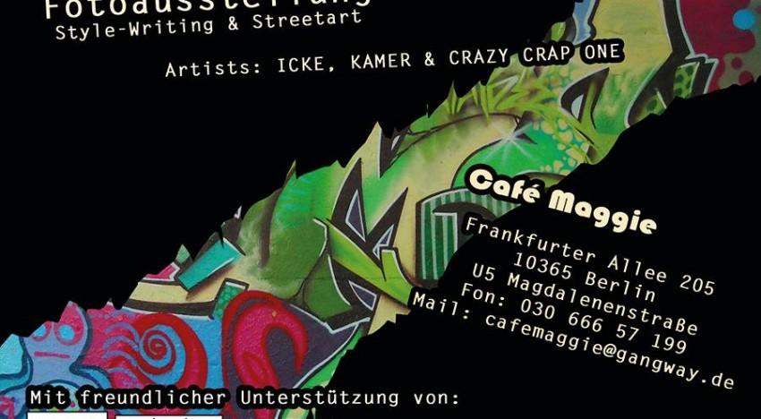 Ausstellung: Lichtenberger Graffiti Crew