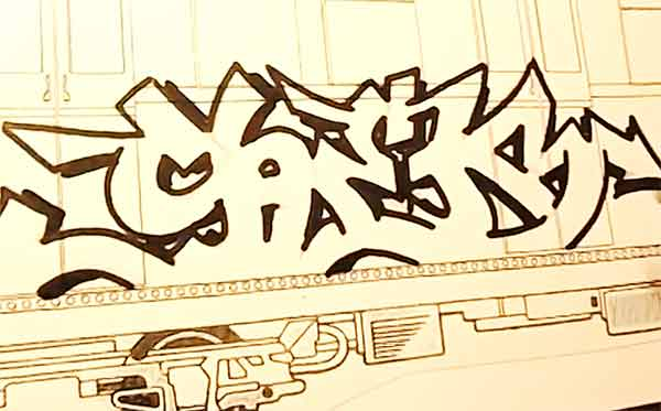 SHEK: Blackbook Sketch