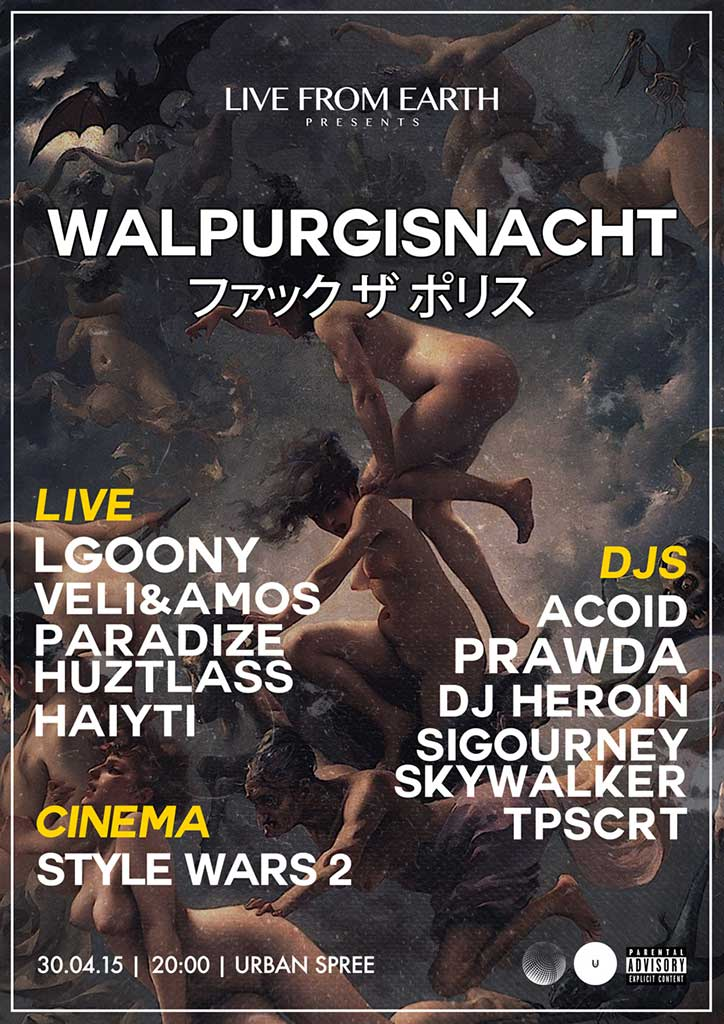 Live From Earth: Walpurgisnacht