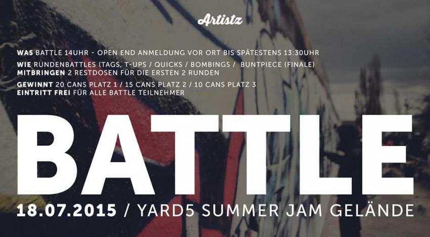 Yard 5 Jam: Artistz Battle