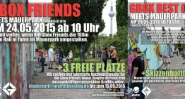 Graffitibox meets Mauerpark