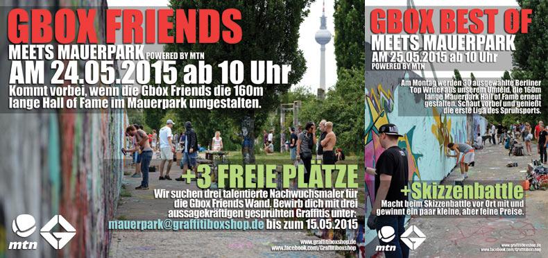 Graffitibox meets Mauerpark