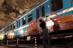 Stockholm: Underground Graffiti Mission