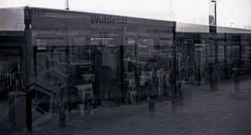Analog: Doppelbelichtung S/W Film