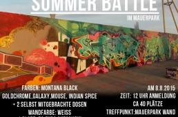 Writers Corner Summer Battle