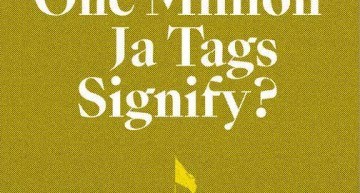 What Do One Million Ja Tags Signify?