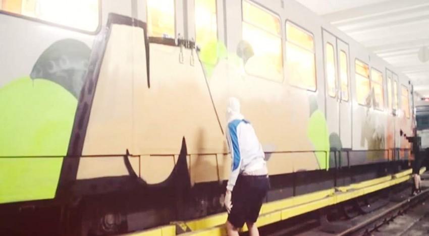 Wien: Graffiti Vandals – Subway Party
