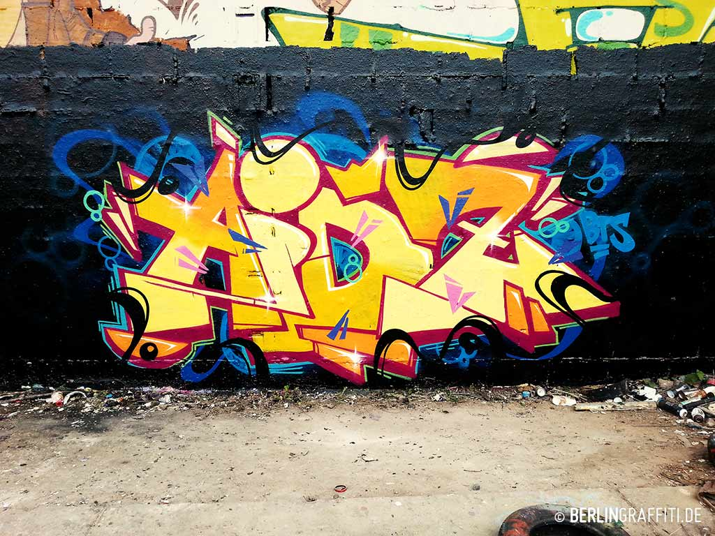 Aidz berlin graffiti