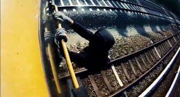 S-Bahn: Trainsurfen