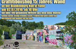 Geburtstag: 15 Jahre Graffitibox
