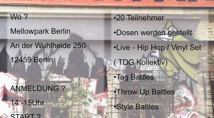 Battle: Mellowpark Graffiti Battle