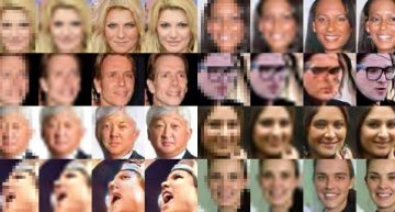srez: Verpixelte Gesichter sichtbar machen