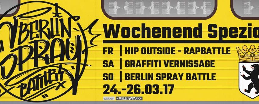 Battle: Berlin Spray Battle – Wochenend Spezial