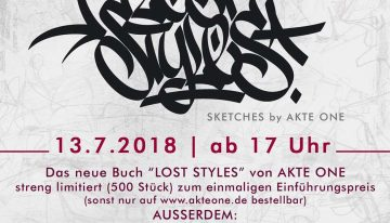 Release: AKTEone – Lost Styles