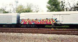 Ukraine: LEGZ Crew on Freight Train