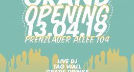 Eröffnung: Neuer Graffitibox Streetstore