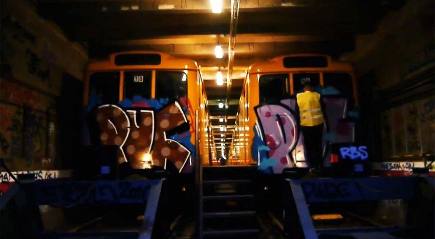 U-Bahn: PUF Crew in Berlin 2014