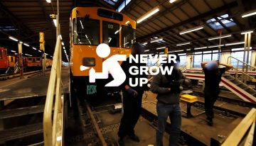 Trailer: Never Grow Up – The Graffiti Series