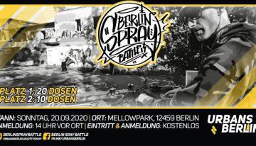 Mellowpark: Berlin Spray Battle