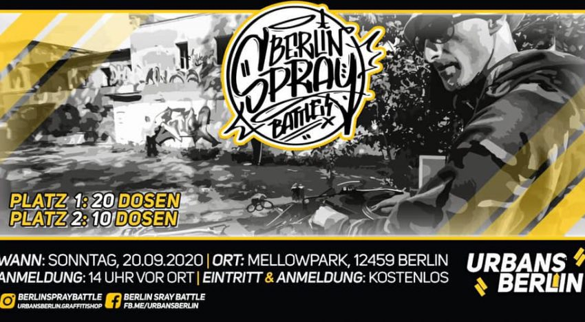 Mellowpark: Berlin Spray Battle