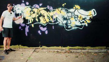 Blind Graffiti: PLANET256