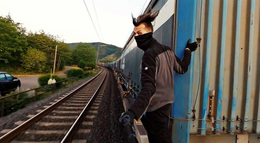 Train Surfing Journey Across Europe