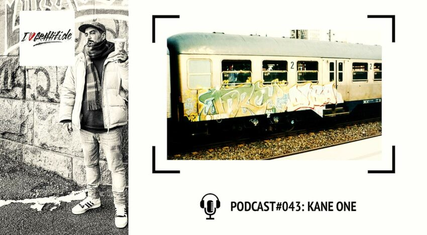 I Love Graffiti Podcast #43: KANE TPM