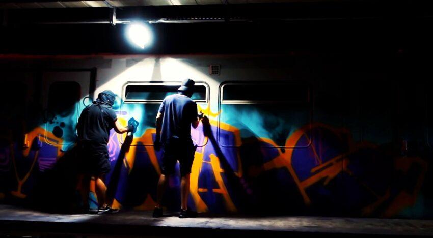 Sleeplezz: Austria Train Writing
